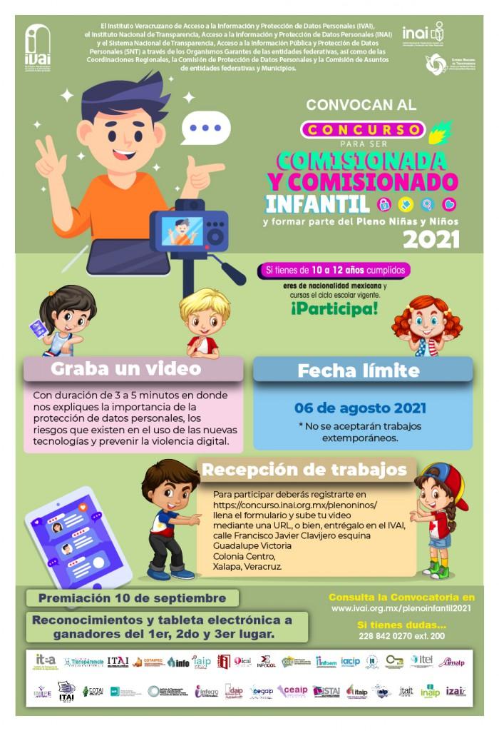 Cartel promoción OGL pleno niños 202-04